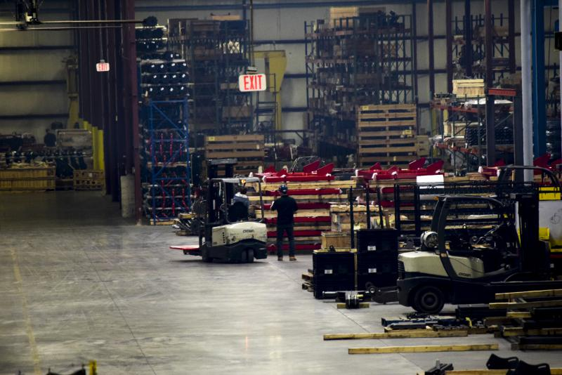 Brandt Industries interior of plant