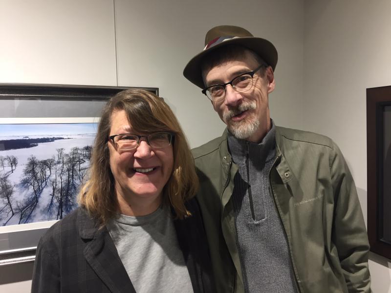 Danelle Dvorak and Ron Fraizer