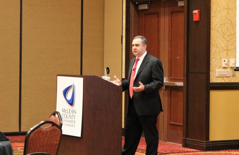 Elliot Richardson speaking