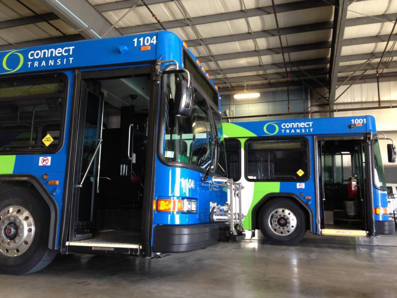 Connect Transit buses