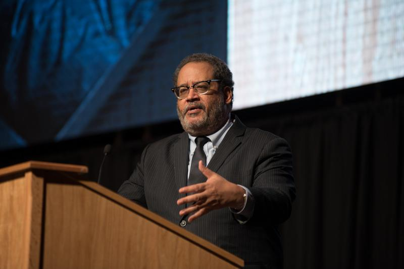 Author and commentator Michael Eric Dyson