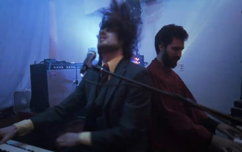 """Neal Francis playing keyboard on his new single """"These Are The Days"""""""