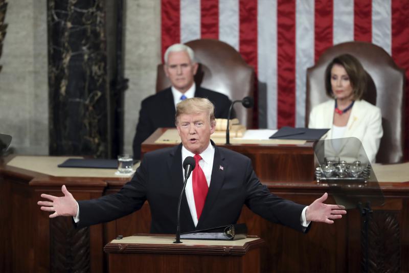 Trump, Pence, and Pelosi