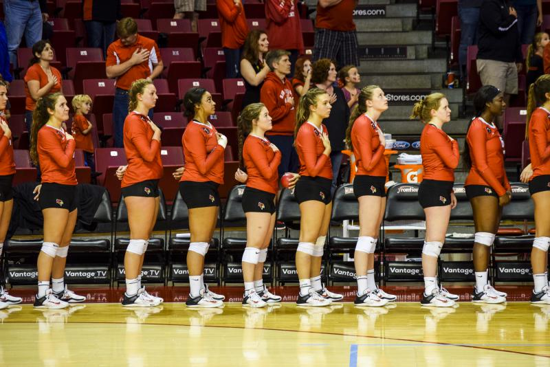 Highlights from Redbird volleyball's Pack the Arena match on Saturday, Oct. 7, 2017.