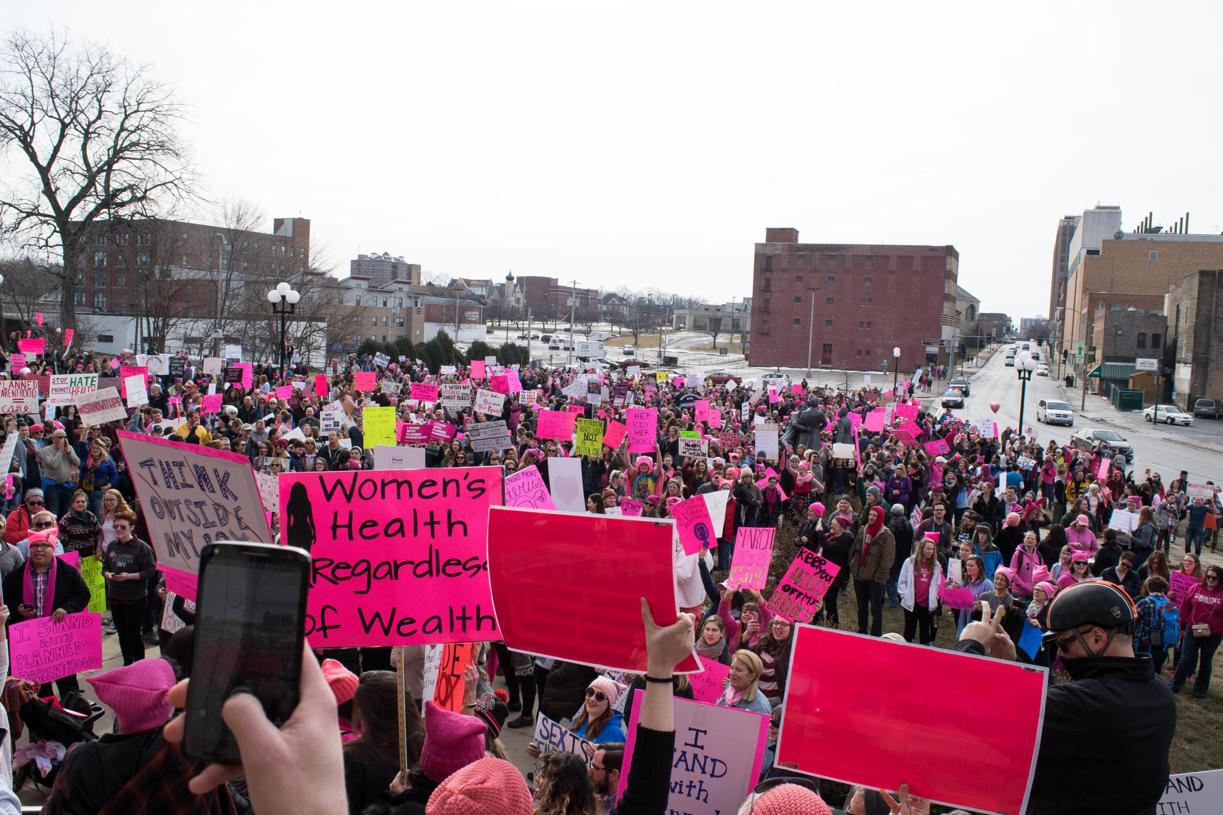 awakening a sleeping giantess grass roots women s groups spring women have thronged to rallies and es in recent months both locally and nationally as new grass roots political action organizations have formed