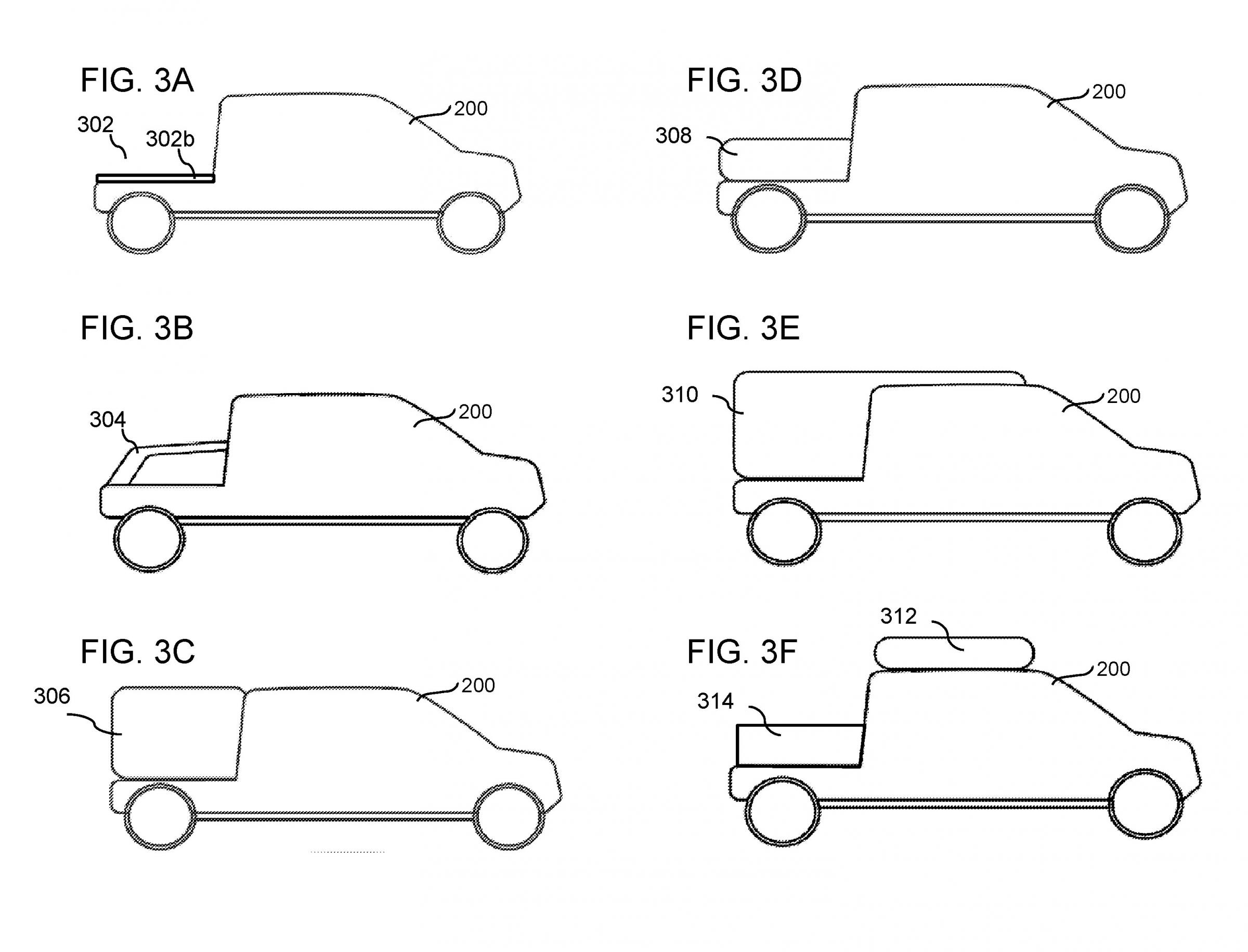An Image Aly Showing One Of Rivian S New Adventure Vehicles Included In Patent Lication For Systemethods Reconfigurable