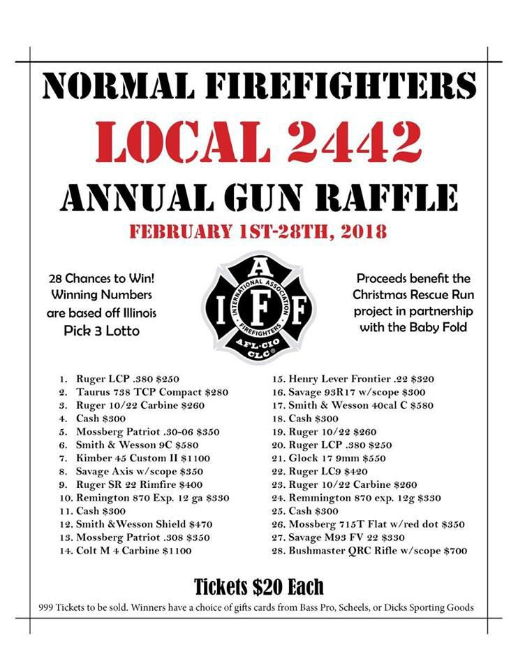 Firefighter Gun Raffles Come Under Fire | WGLT