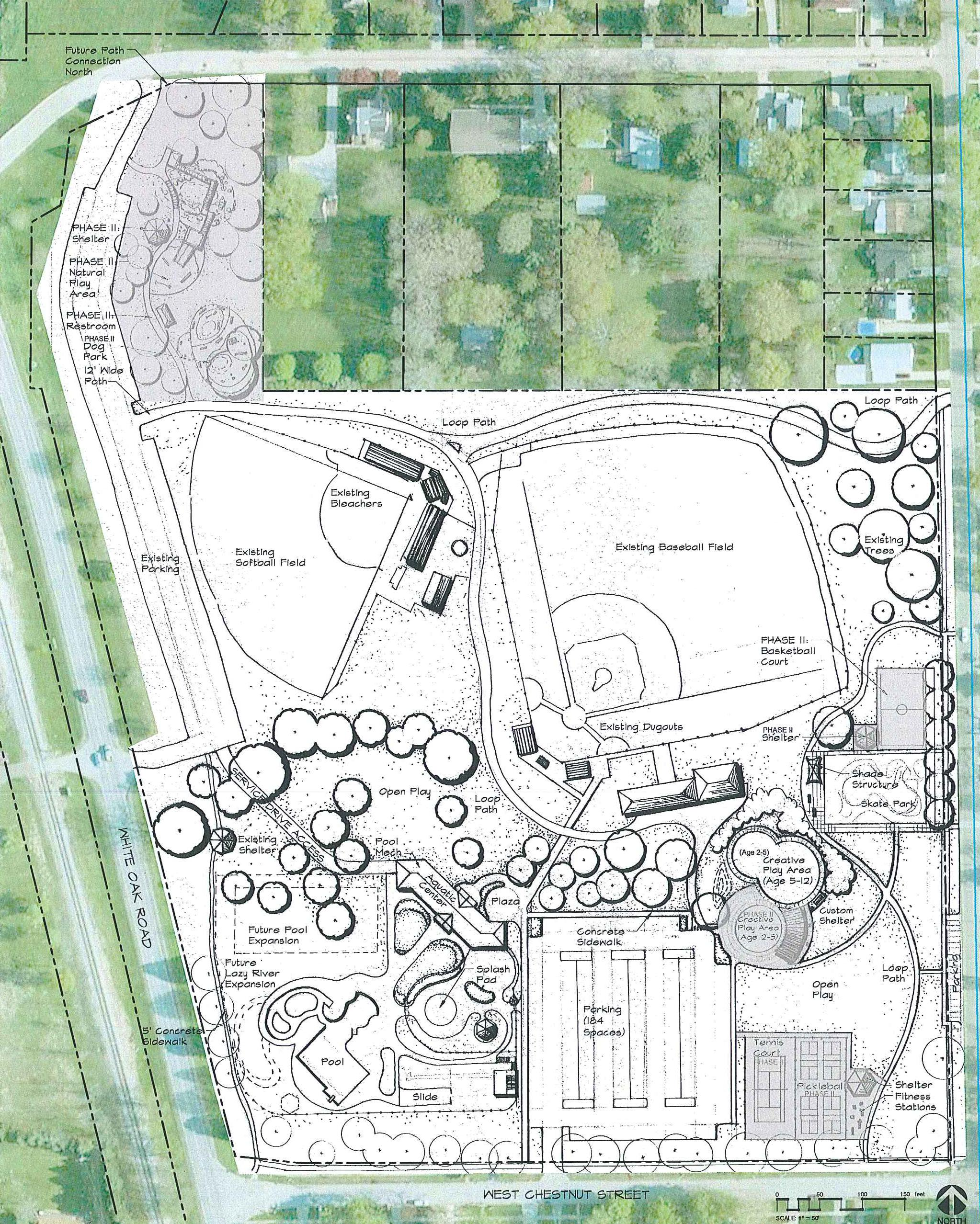 This Preliminary Diagram Shows The New Amenities That Could Be Added To  Ou0027Neil Park During A Rejuvenation Project. Credit City Of Bloomington. U201c
