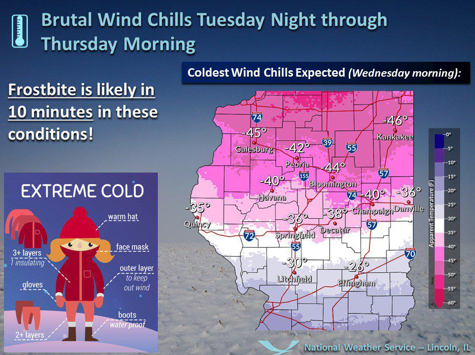 Record-Breaking Cold Coming To Central Illinois | WGLT