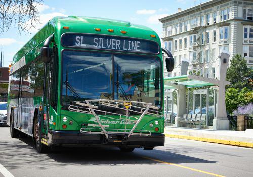 Rapid Silver Line bus