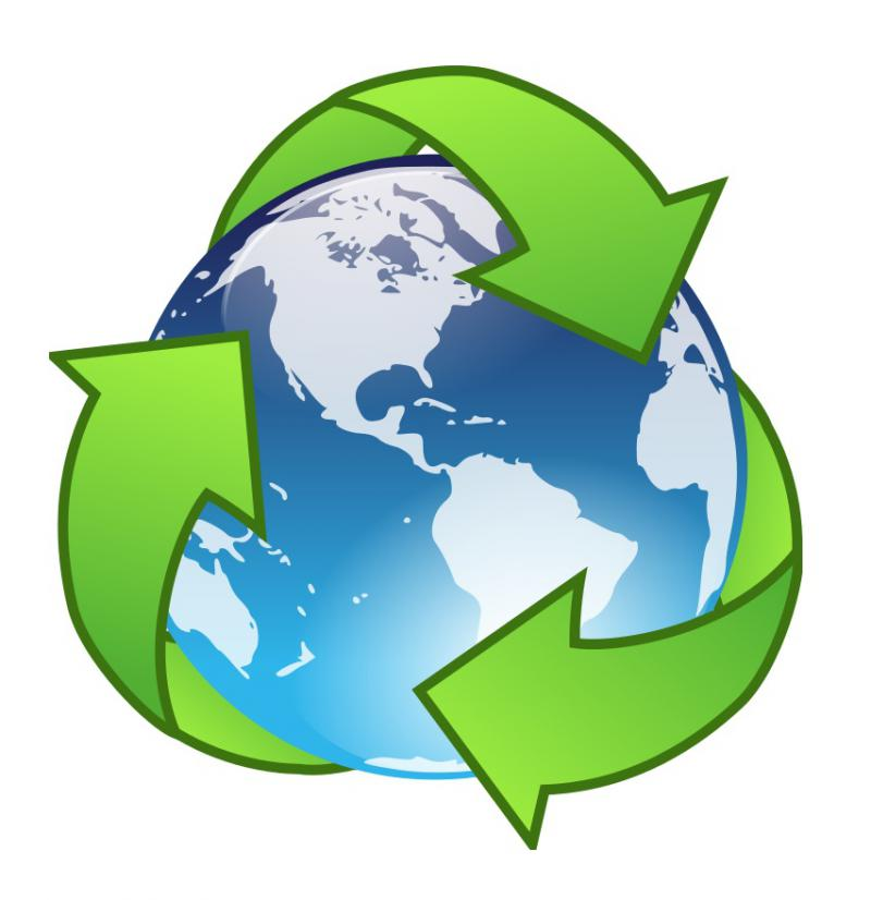 Earth recycling image