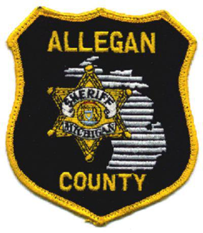 Allegan County Sheriff's badge