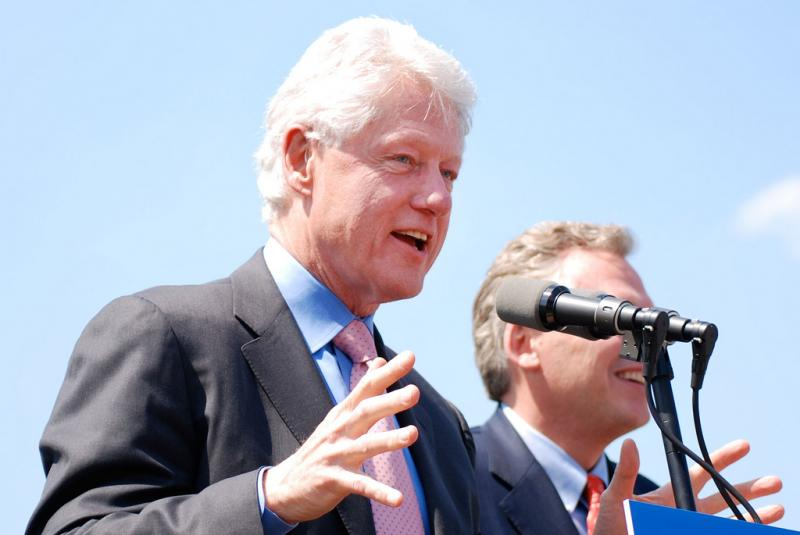 Creative Commons photo of Bill Clinton.