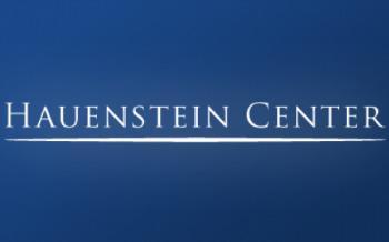 Hauenstien Center for Presidential Studies logo