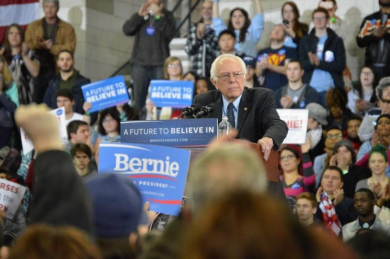 Bernie Sanders campaigned in Michigan ahead of the March primary.