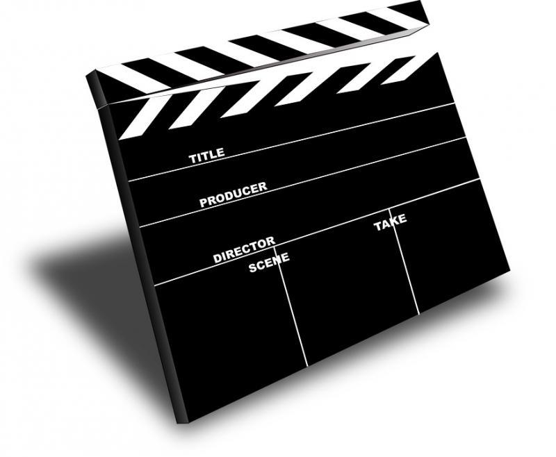 film movie slate