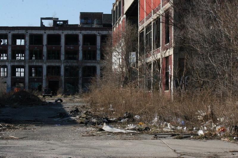 File photo of Packard Plant.
