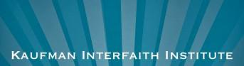 Kaufman Interfaith Institute logo