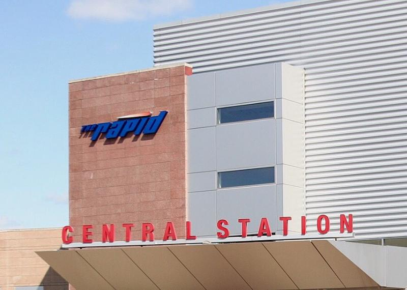 Rapid central station.