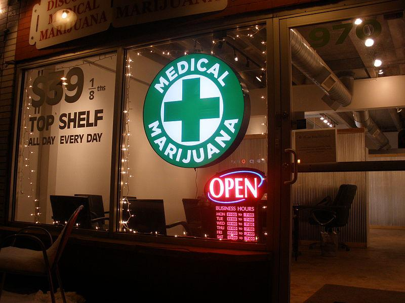 Medical marijuana shop in Denver.