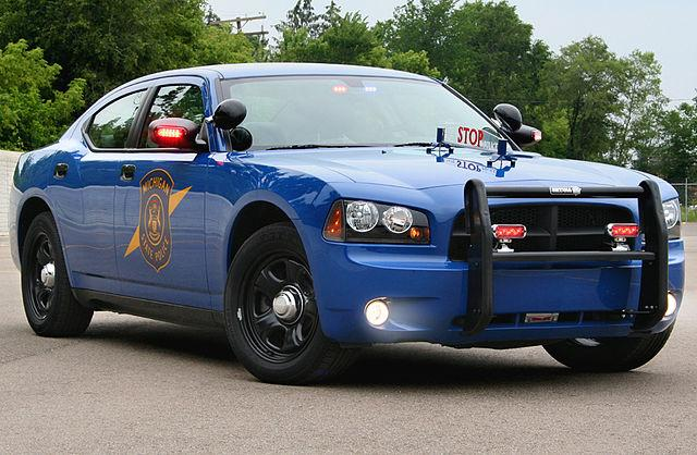 Picture of a State Trooper Vehicle