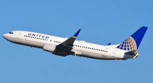 Picture of United plane