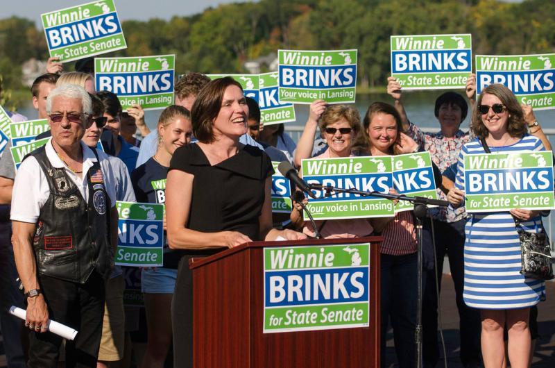 Winnie Brinks campaign photo