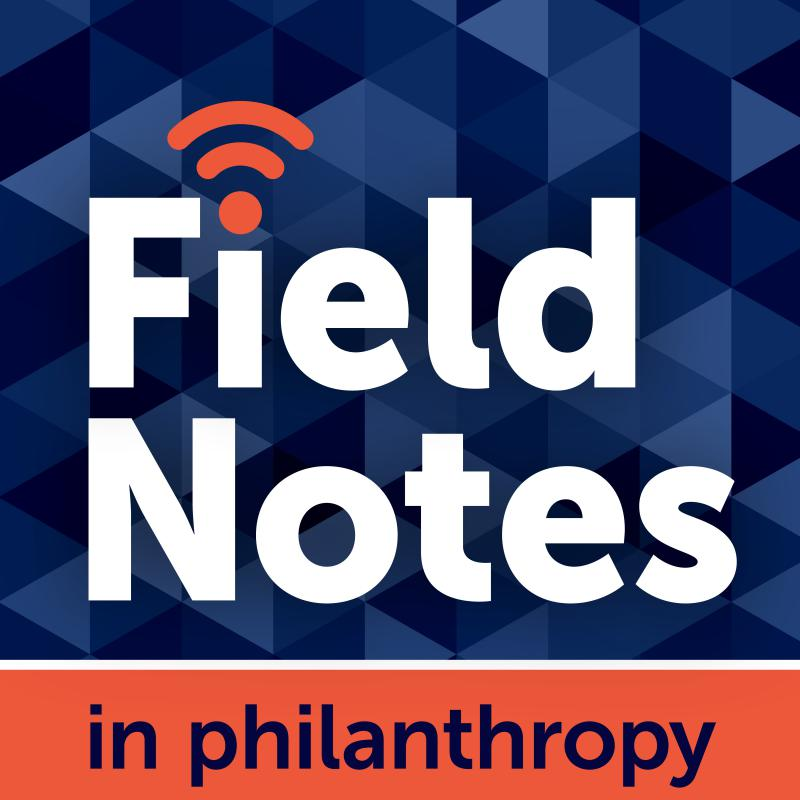Field Notes in Philanthropy podcast logo