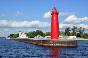 Muskegon Pierhead Lighthouse photo