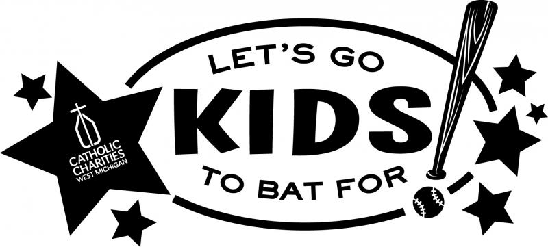 Let's Go to Bat for the Kids logo