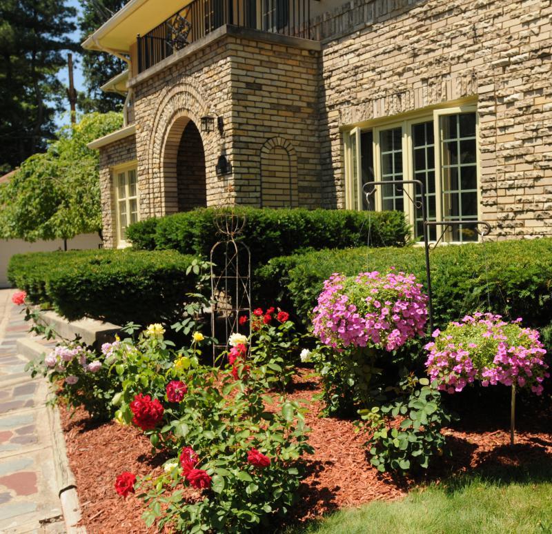 Picture of garden in Ottawa Hills