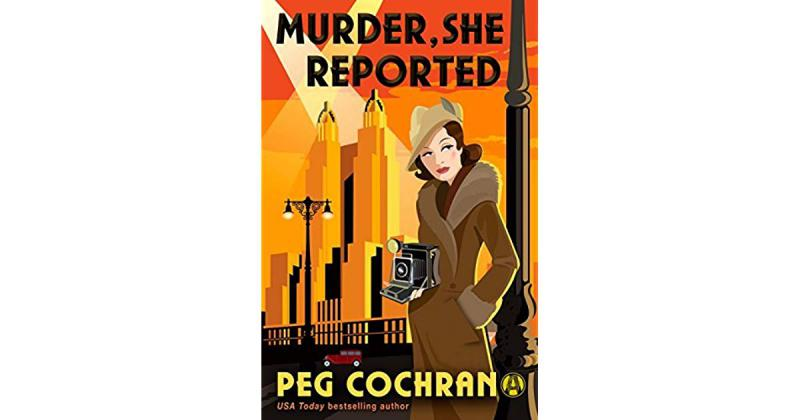 Murder, She Reported book cover