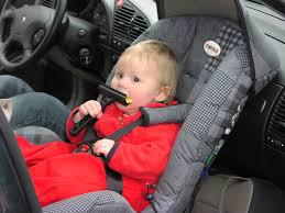 picture of child in rear facing child seat