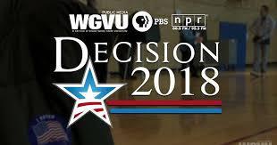 WGVU Decision 2018 logo