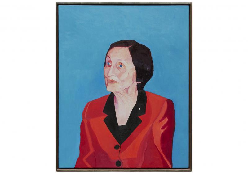 Françoise Gilot - oil on canvas