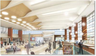 Charming $45M Gerald. R. Ford Airport Renovation To Begin Next Week