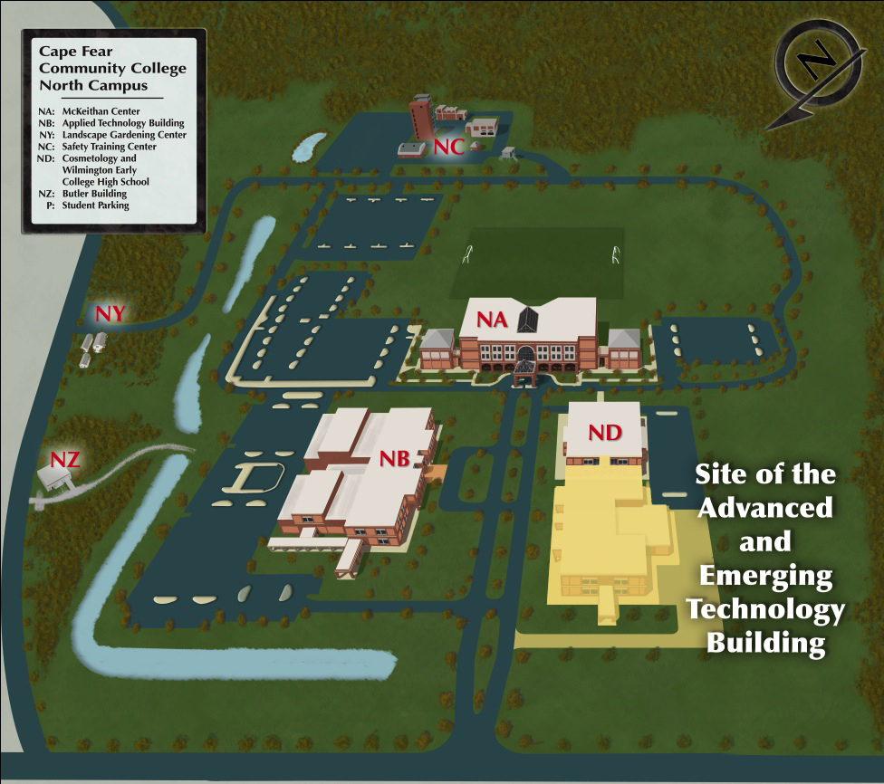 Butler Community College Campus Map.Nhc Commissioners Consider Approving 40 Plus Million For Cfcc S