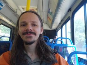 Keenen Altic on the 101 Princess Place bus