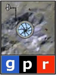 Artists conceptual rendering of the Galactic Public Radio studios on Earth's Moon.