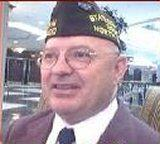 Roy Meares, Commander of the NC VFW