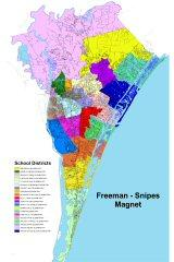 Final redistricting map adopted by school board