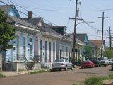 A street in New Orleans' Lower 9th Ward.