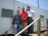 Port employees Chris Bonura, Howard Dennison and Clyde Mathis