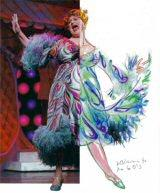 William Ivey Long's costume design and completion for Harvey Fierstein in the musical 'Hairspray.'