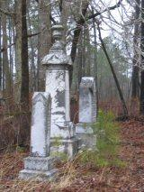 Roadside cemetery in Robeson County