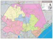 Original Pender County Redistricting Map under consideration.