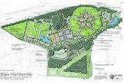 Plans for the Olsen Farm Park.
