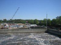 Construction is well underway to double the capacity of Wilmington's Northside Wastewater Treatment Plant.