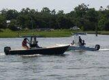 Boaters on the Intracoastal Waterway.