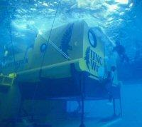 The Aquarius undersea lab, owned by NOAA and operated by UNCW.